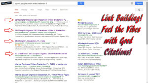 Link Building - Feel the vibes with good citations
